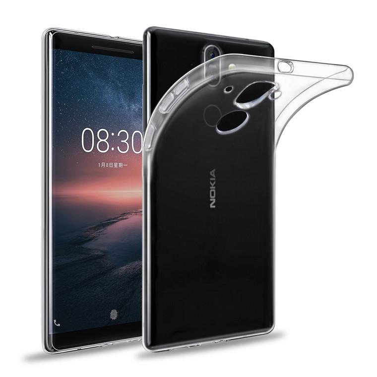 32nd clear gel Nokia 8 Sirocco (2018) Case.