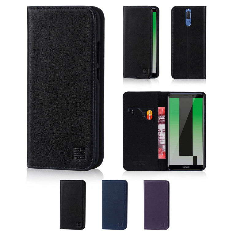 32nd real leather classic wallet Huawei Mate 10 Lite Case in a range of fantastic colours.