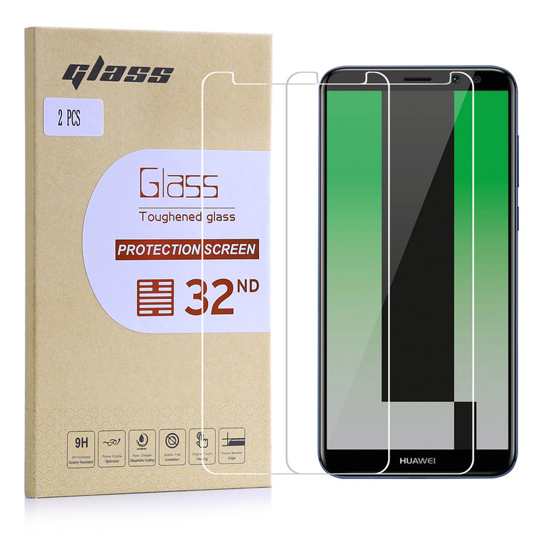 Huawei Mate 10 Lite tempered glass screen protector by 32nd.