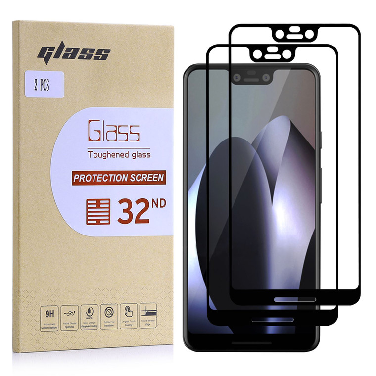 Google Pixel 3 XL Tempered Glass Screen Protector - 2 Pack