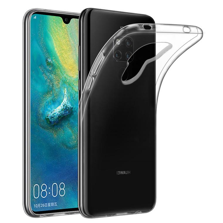 Huawei Mate 20 'Clear Gel Series' TPU Case Cover - Clear