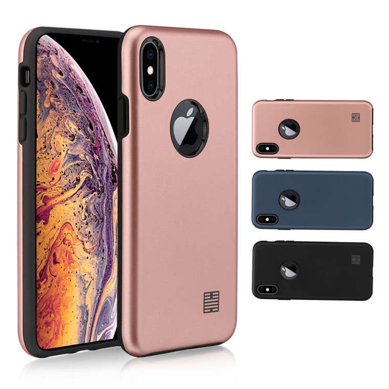 Apple iPhone XS Max 'Hybrid Armour Series' Slim Armour Case Cover