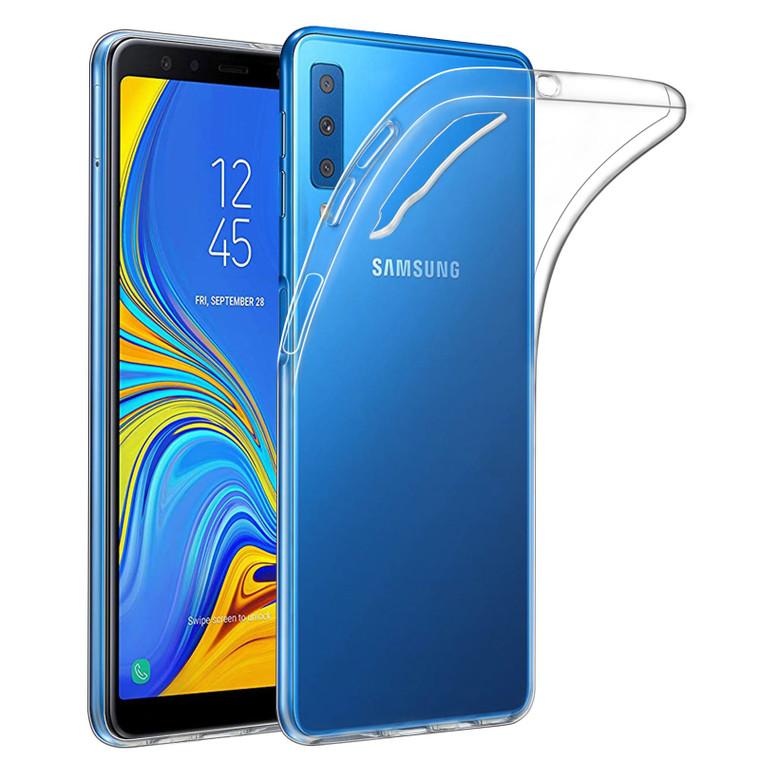Samsung Galaxy A7 (2018) 'Clear Gel Series' TPU Case Cover - Clear
