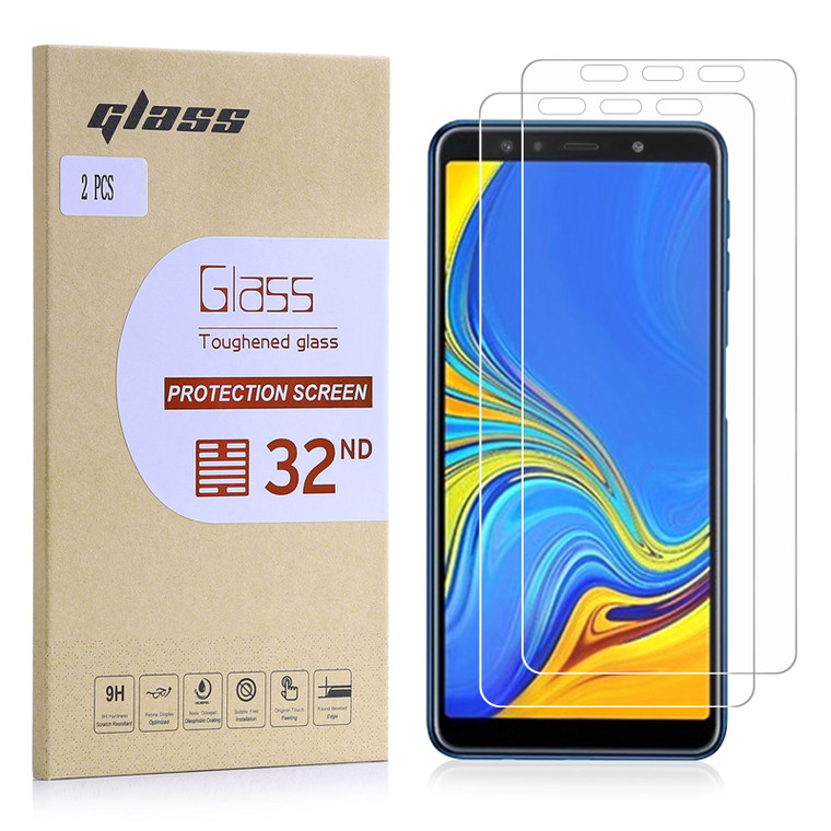 Samsung Galaxy A7 (2018) Tempered Glass Screen Protector - 2 Pack