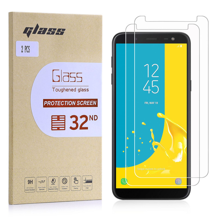 Samsung Galaxy J6 (2018) Tempered Glass Screen Protector - 2 Pack