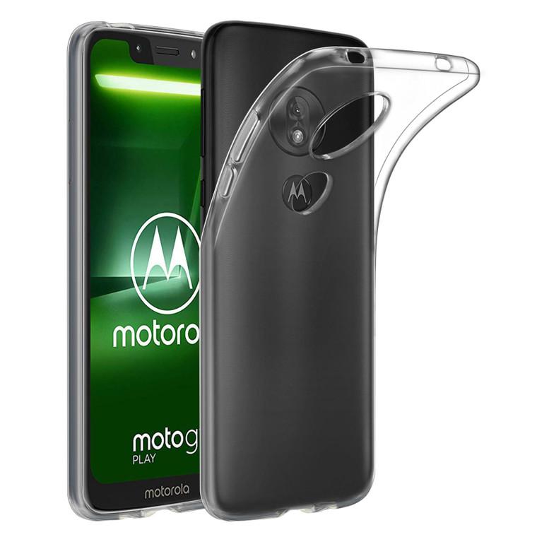 Motorola Moto G7 Play 'Clear Gel Series' TPU Case Cover - Clear