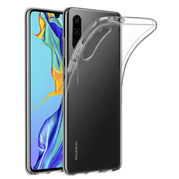 Huawei P30 'Clear Gel Series' TPU Case Cover - Clear