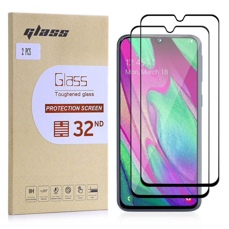 Samsung Galaxy A40 (2019) Tempered Glass Screen Protector - 2 Pack
