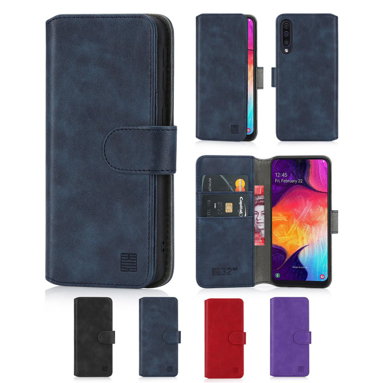 Samsung Galaxy A50, A50S & A30S (2019) 'Essential Series 2.0' PU Leather Wallet Case Cover