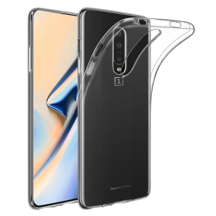 OnePlus 7 Pro 'Clear Gel Series' TPU Case Cover - Clear
