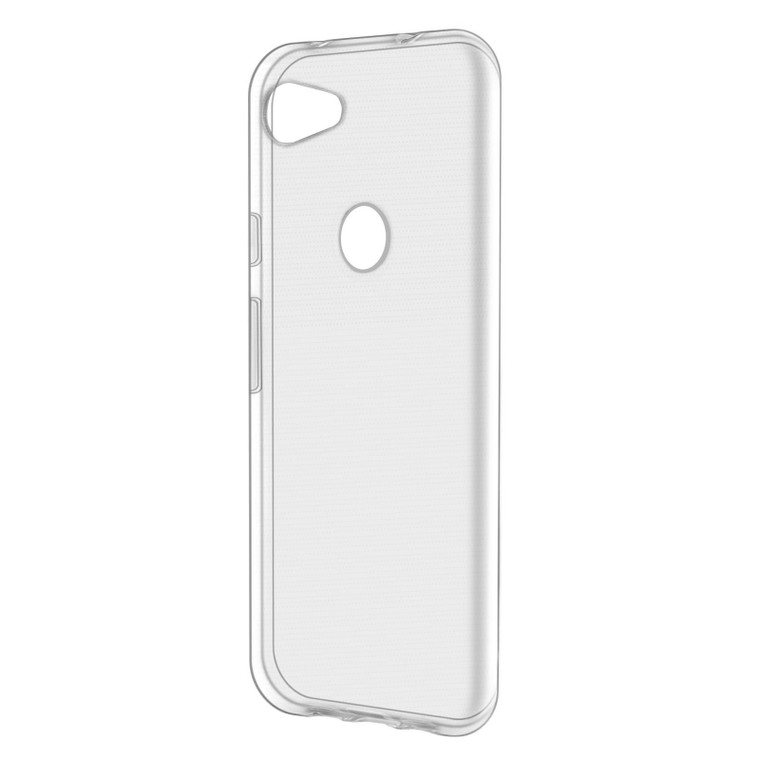 Google Pixel 3A XL 'Clear Gel Series' TPU Case Cover - Clear
