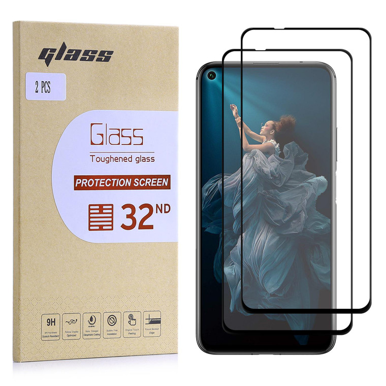 Huawei Honor 20 Pro Tempered Glass Screen Protector - 2 Pack