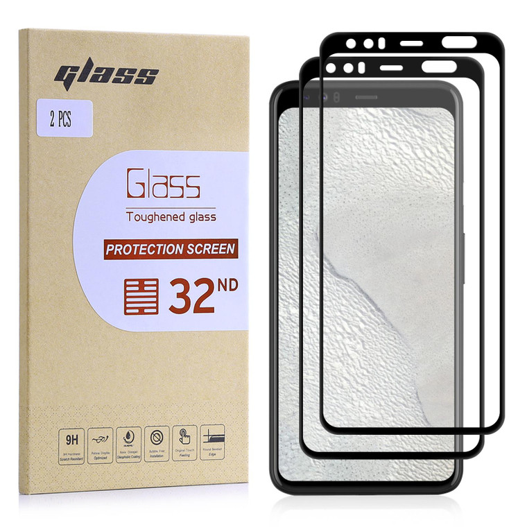 Google Pixel 4 XL Tempered Glass Screen Protector - 2 Pack