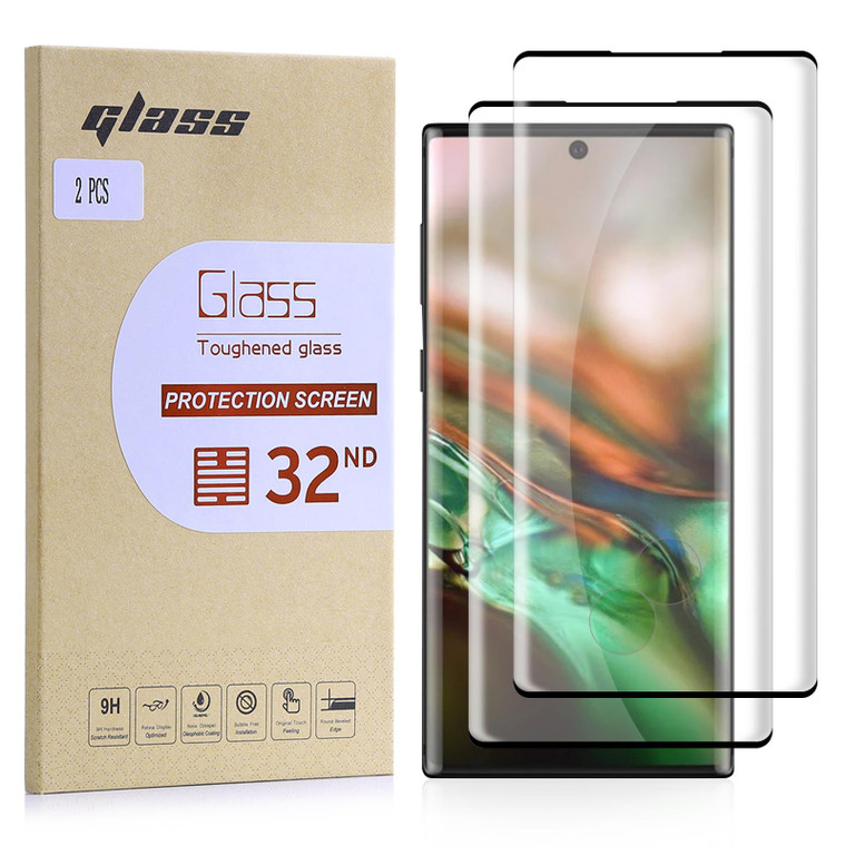 Samsung Galaxy Note 10 Tempered Glass Screen Protector - 2 Pack