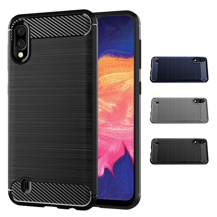 Samsung Galaxy A10 (2019) 'Carbon Series' Slim Case Cover