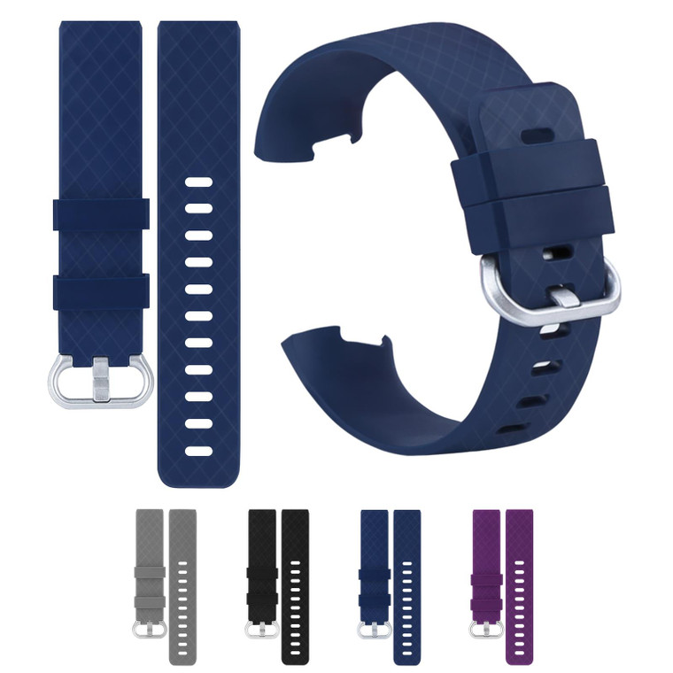 """32nd Replacemnt Wristband Bracelet Strap for Fitbit Charge 3 - Large (6.0"""" - 8.1"""")"""