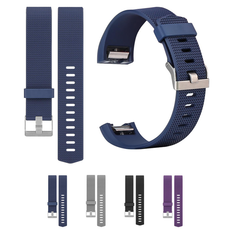 """32nd Replacemnt Wristband Bracelet Strap for Fitbit Charge 2 - Large (6.0"""" - 8.1"""")"""