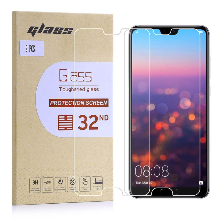 Huawei Mate 30 Lite Tempered Glass Screen Protector - 2 Pack