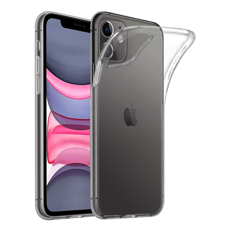 """32nd Clear Gel Case Cover for Apple iPhone 11 (6.1"""") - Clear"""