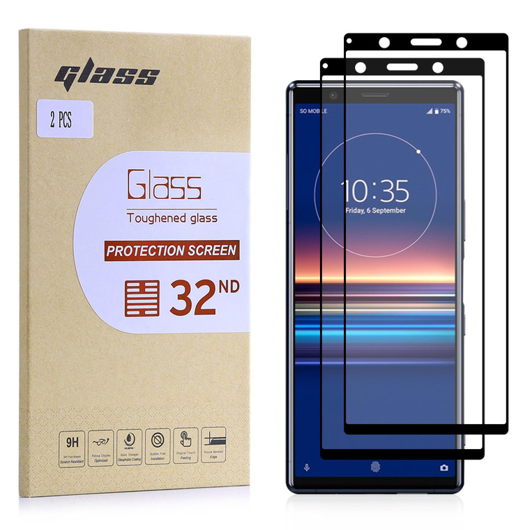 Sony Xperia 5 (2019) Tempered Glass Screen Protector - 2 Pack