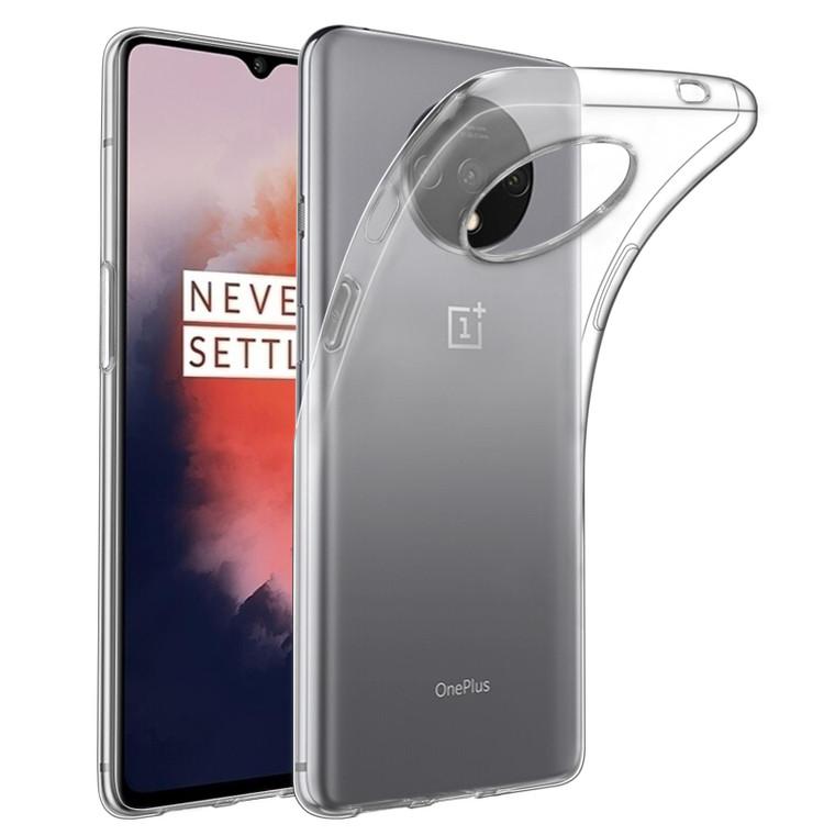OnePlus 7T 'Clear Gel Series' TPU Case Cover - Clear