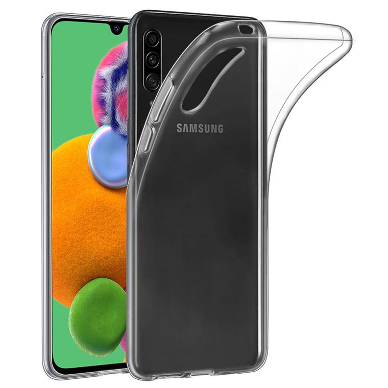 Samsung Galaxy A90 5G (2019) 'Clear Gel Series' TPU Case Cover - Clear