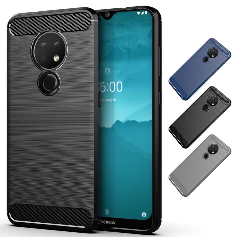 Nokia 6.2 (2019) 'Carbon Series' Slim Case Cover