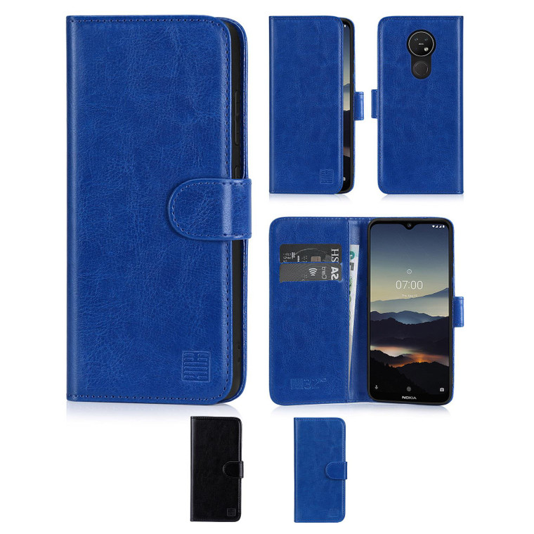 Nokia 6.2 (2019) 'Book Series' PU Leather Wallet Case Cover