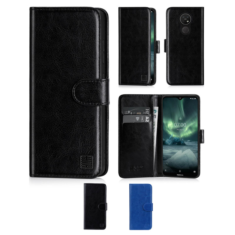 Nokia 7.2 (2019) 'Book Series' PU Leather Wallet Case Cover