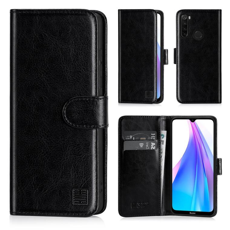Xiaomi Redmi Note 8T 'Book Series' PU Leather Wallet Case Cover