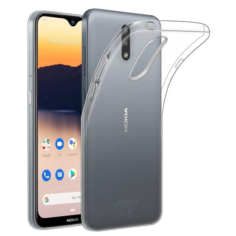Nokia 2.3 'Clear Gel Series' TPU Case Cover - Clear