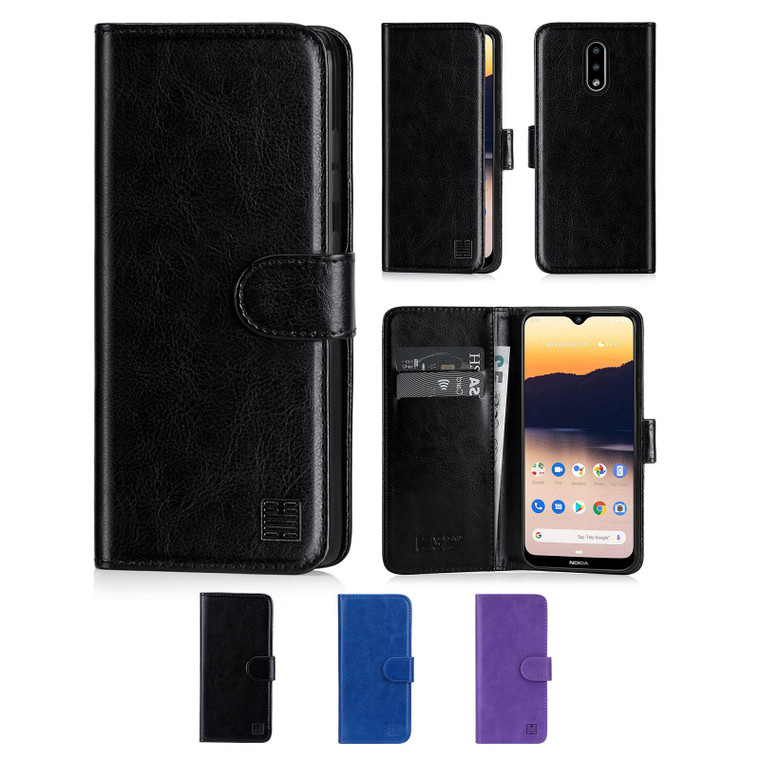 Nokia 2.3 'Book Series' PU Leather Wallet Case Cover