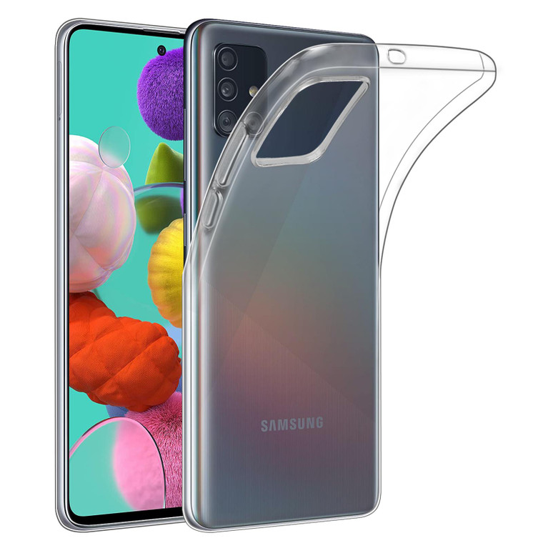 Samsung Galaxy A51 (2020) 'Clear Gel Series' TPU Case Cover - Clear