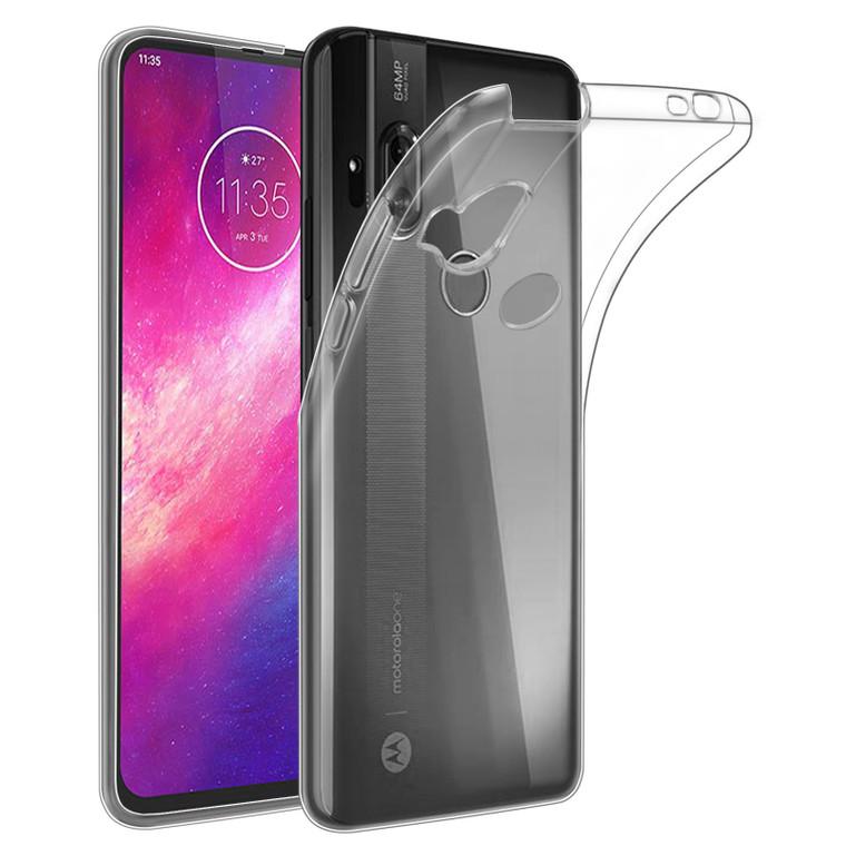 Motorola Moto One Hyper 'Clear Gel Series' TPU Case Cover - Clear