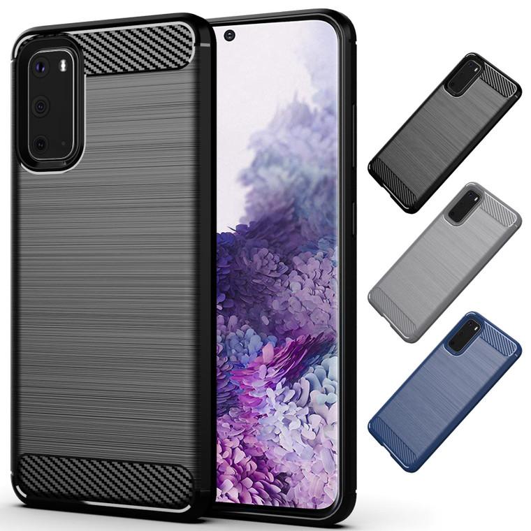Samsung Galaxy S20 'Carbon Series' Slim Case Cover