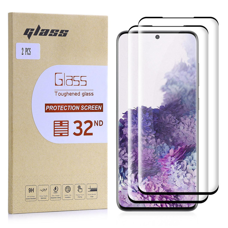 Samsung Galaxy S20 Tempered Glass Screen Protector - 2 Pack