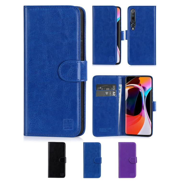 Xiaomi Mi 10 & Mi 10 Pro 'Book Series' PU Leather Wallet Case Cover