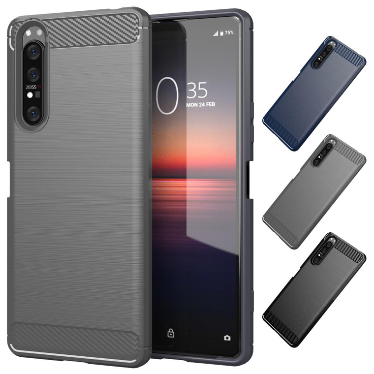 Sony Xperia 1 II (2020) 'Carbon Series' Slim Case Cover