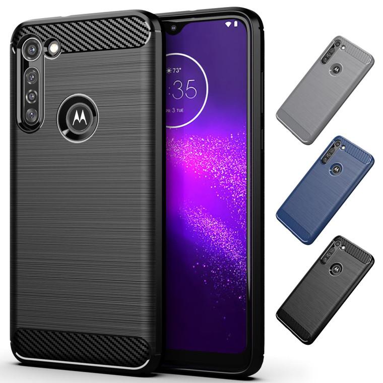 Motorola Moto G8 Power 'Carbon Series' Slim Case Cover