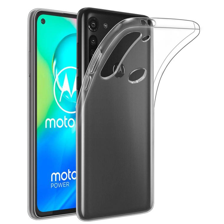 Motorola Moto G8 Power 'Clear Gel Series' TPU Case Cover - Clear