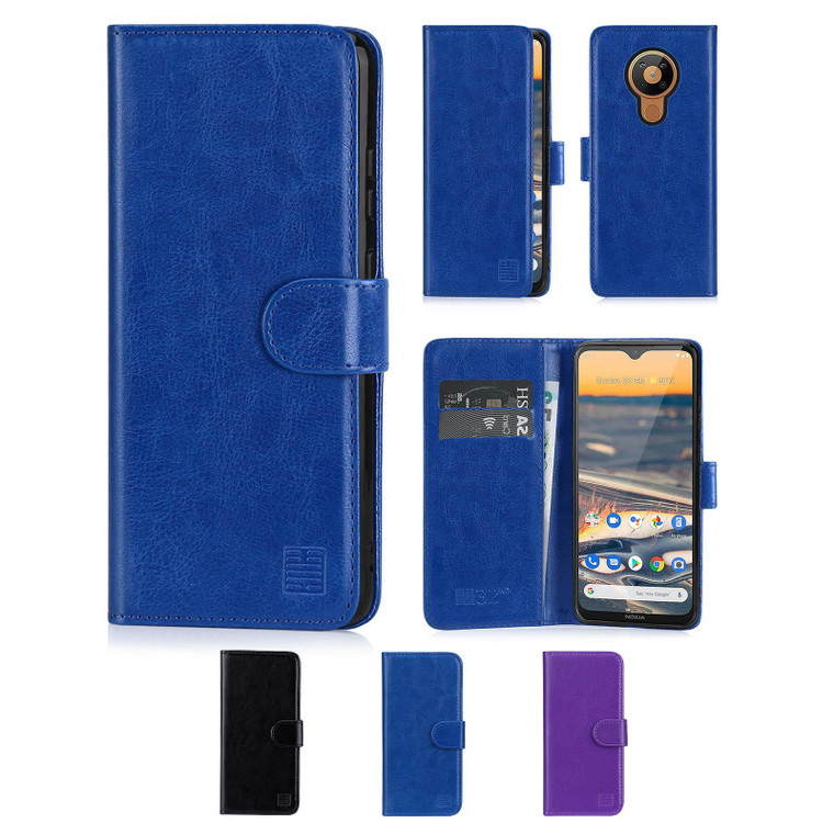 Nokia 5.3 (2020) 'Book Series' PU Leather Wallet Case Cover