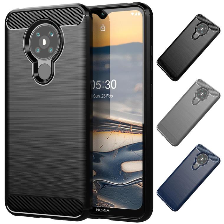 Nokia 5.3 (2020) 'Carbon Series' Slim Case Cover