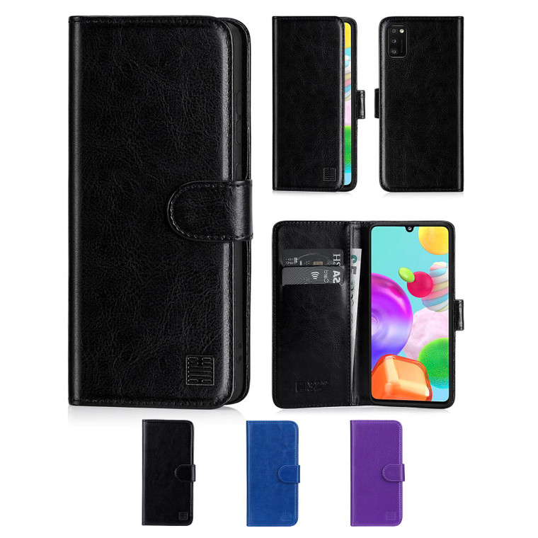 Samsung Galaxy A41 (2020) 'Book Series' PU Leather Wallet Case Cover