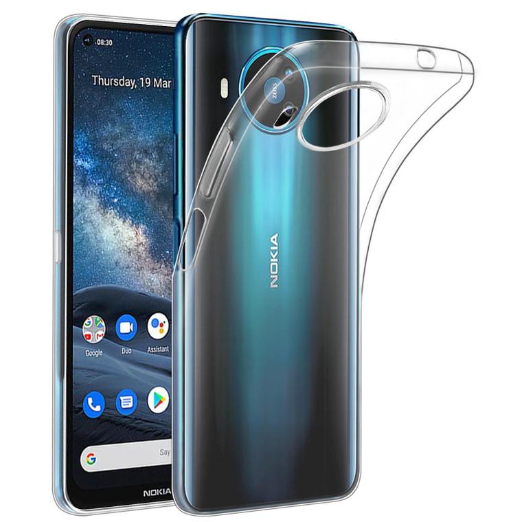 Nokia 8.3 (2020) 'Clear Gel Series' TPU Case Cover - Clear