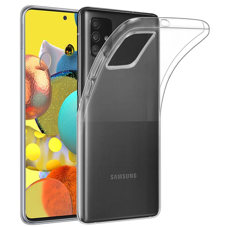 Samsung Galaxy A51 5G (2020) 'Clear Gel Series' TPU Case Cover - Clear