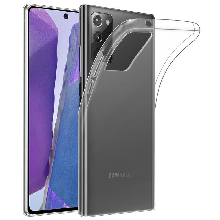 Samsung Galaxy Note 20 'Clear Gel Series' TPU Case Cover - Clear