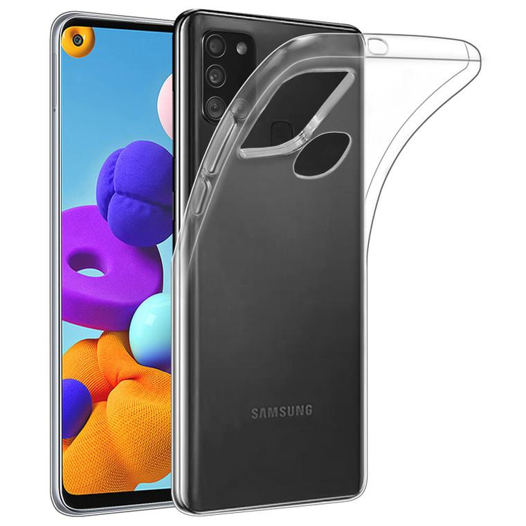 Samsung Galaxy A21S (2020) 'Clear Gel Series' TPU Case Cover - Clear