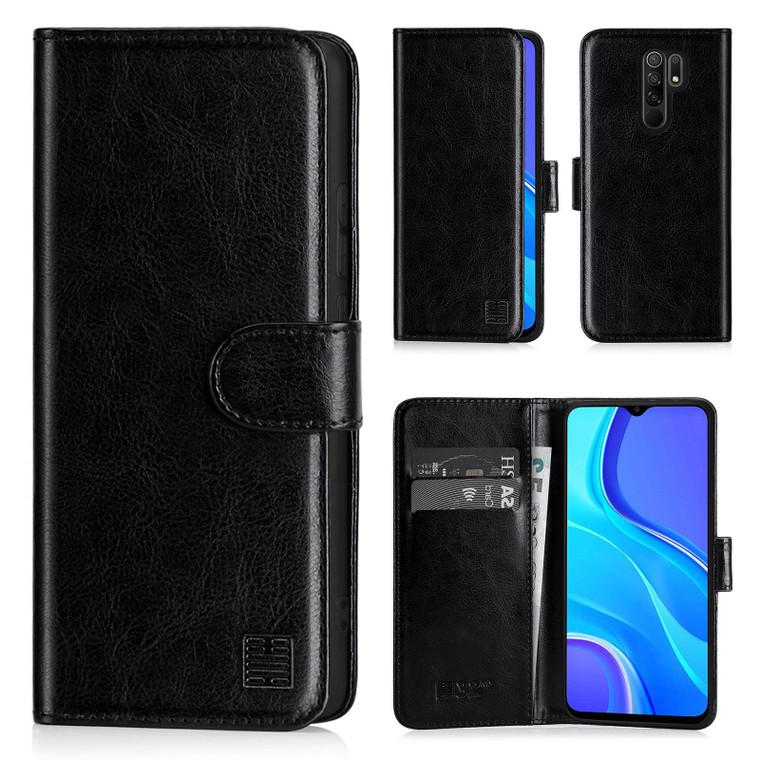 Xiaomi Redmi 9 'Book Series' PU Leather Wallet Case Cover