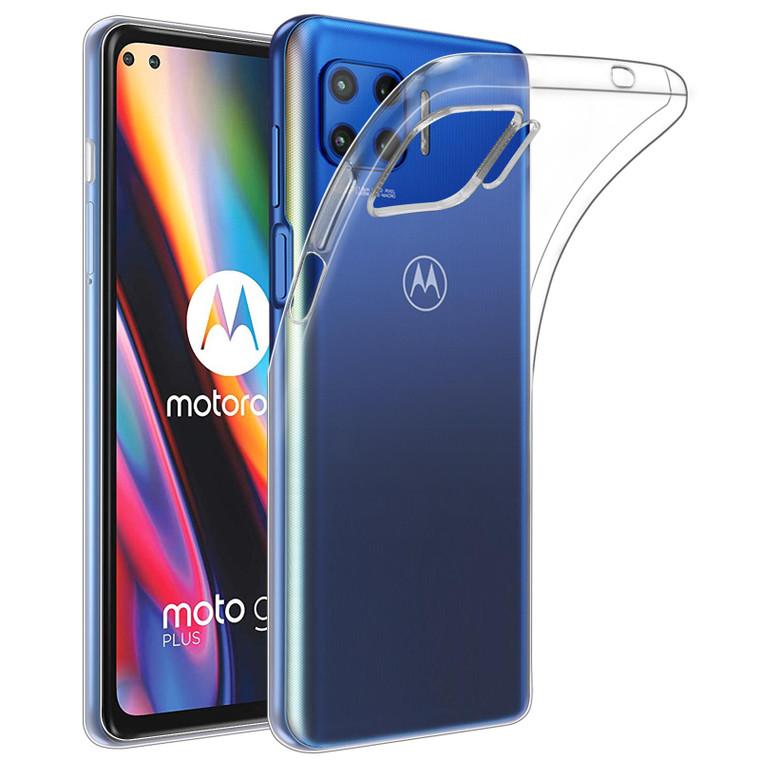 Motorola Moto G 5G Plus (2020) 'Clear Gel Series' TPU Case Cover - Clear