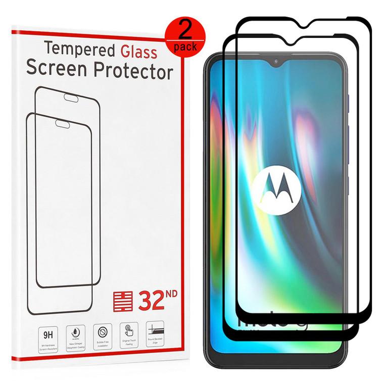 Motorola Moto G9 & G9 Play Tempered Glass Screen Protector - 2 Pack